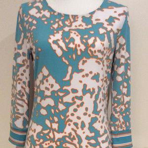 Michael Michael Kors Turquoise  Shift Dress
